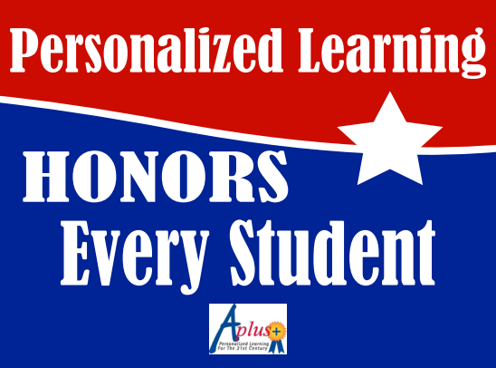 Personalized Learning honors every student