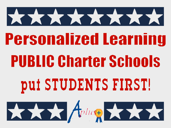 Personalized learning public charter schools put students first!