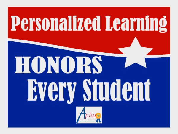Personalized learning honors every student!